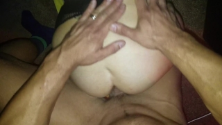 Her slut a asshole what filthy hotwife inside strangers cum total cum mfm