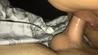 Impregnating best friends mom  hardcore cowgirl close up bald pussy empregnate dripping wet pussy pulsating creampie homemade couple cum amateur jizz