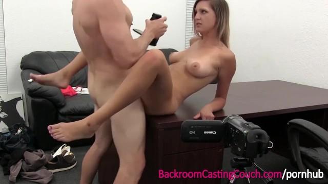 Backroom at swinging richards Big boobs blonde creampie in office