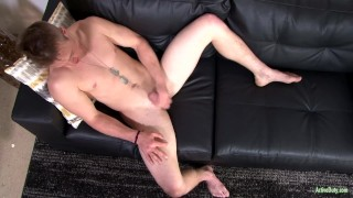 ActiveDuty Straight & Solo 22yo Soldier Masturbating Bareback blowjob