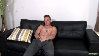 ActiveDuty Straight & Solo 22yo Soldier Masturbating