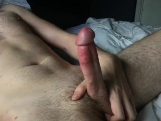 Post-Workout Erection / Cumshot