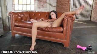BTS Adriana Chechik Anal and Squirting Durning Interview Cock big
