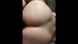 Big butt friend let's me smash again Style doggy