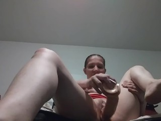 a video for hubby while he isout at the store