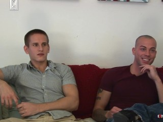 BTS Extra Big Dicks With Muscle Cutie Sean Duran & Jaques LaVere