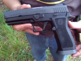 Sig P320 X5 - Tactical Practical and Competitive - Mini Gun Review Video