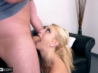 BANG Casting - Skylar Madison deep throat audition