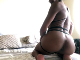 Sexy ts belize teases in hot video b4...