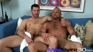 BTS MenOver30 - Hot Hairy Muscle Daddies Chad Brock and Clay Towers
