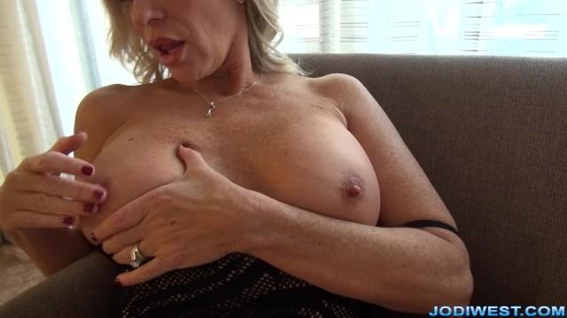 MILF StepMom Jodi West Masturbates for you