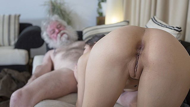 Man fucking pussy White Hair Old Man Fucks Teen Pussy So Tight And Young Hardcore Fucking Pornhub Com