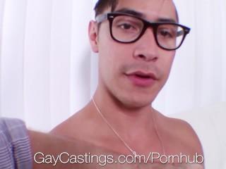 GayCastings Naive newcomer Zander Cole fucks casting agent