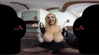 StockingsVR.com Boobmania 34HH Krystal Swift