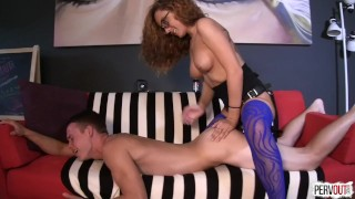 Mainstream Pornstars Fucking Guys w Strapons Sweet Femdom Compilation
