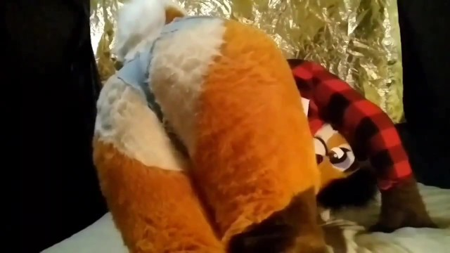 Sexy Deer Fursuit Teases you with her Big Ass