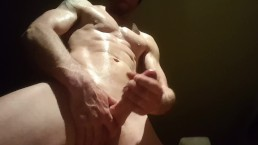 Cock stroke with cumshot...