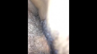 My Thai girl with nice ass riding me hard.
