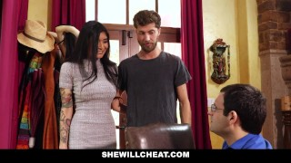 SheWillCheat - Hot Wife Brenna Sparks Fuck Boy Toy Mom big