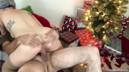 XXXmas2018- Grandma Got Bent Over by a Reindeer!