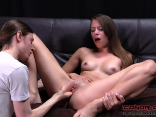 ConorCoxxx-Sexy teen Zoey Laine fingering session