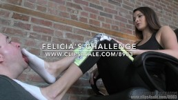 Felicia's Challenge - (Dreamgirls in Socks)