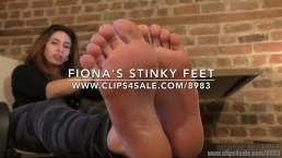 Fiona's Stinky Feet - (Dreamgirls in Socks)