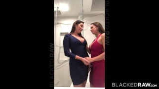BLACKEDRAW Two Party Girls Cheat With BBCs After The Club porno
