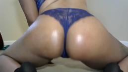 Fingering my virgin asshole after spanking