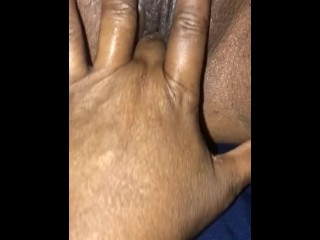 Up close and personal fingering Luscious Lips