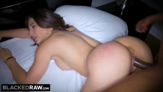 BLACKEDRAW Abella Danger Can't Resist Taking BBC After Photoshoot