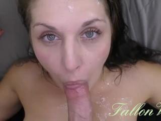 Hot, Wet blowjob, Sex & Cumshot