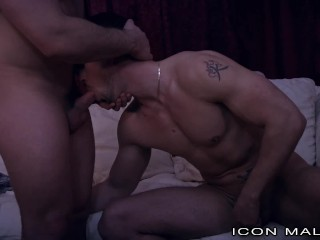 Popcorn, A Movie & 2 Big Dick College Boys Fucking Around