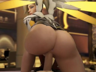 Overwatch HMV/PMV - A Mercy Special | This Girl