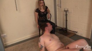 Taste My Boot, Whore! - Serve Your Mistress, Slave Pov cumshot
