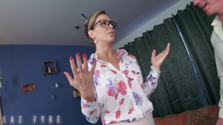 Cherie DeVille Presidential Blackmail -Diplomatic Insemination! By Laz Fyre Brunette homemade