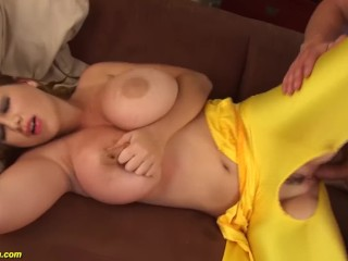 monster boob Terry Nova spandex fucked