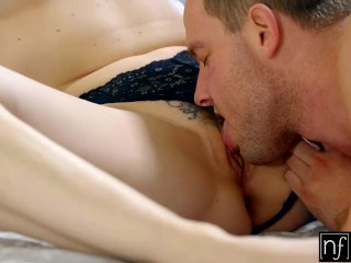 Preview 3 of Sleeping Girlfriend Chanel Preston Wakes Up To Hot Sex S4:E5