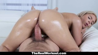TeamSkeet - Fitness Chick With Huge Ass Does Some Sensual Healing