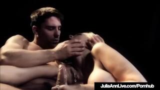 Banged gorgeous milf anal on broadway ann is stage julia shot blonde