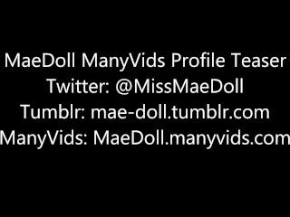 MaeDoll ManyVids Profile Teaser