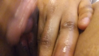 Play big with clit she her until goddess climaxxx shaved thick