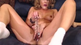 MILF HAD TO CUM WITH COMPANY UPSTAIRS! XXX
