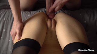 And close cock on pussy fuck cum pov pussy huge up rubbing big her female amateurs verified