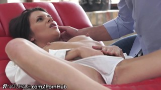 Natural Russian Babe Filled with Lust for Anal Penetration porno