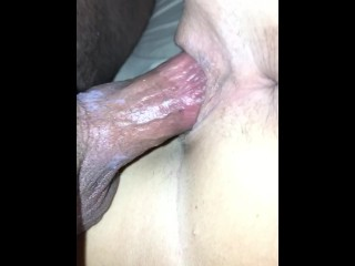 Slow fuck while she cums on me then I cum in her. Pt. 1/2