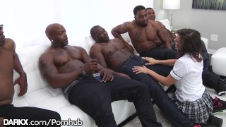 School Girl Keisha Grey Puts In Work - Hot Rough BBC Gangbang Tits ass