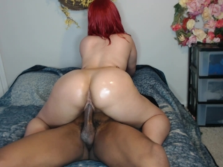 Hot Heavy-hanging Black Babes Get It On And Go Down