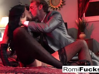 Preview 2 of Businessman watches Vampire movie then bangs an Escort