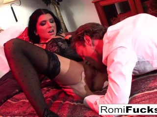Preview 4 of Businessman watches Vampire movie then bangs an Escort